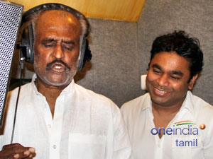 Rajini sings for Kochadaiyaan
