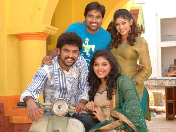 Shiva, Oviya Helen, Vimal, Anjali in Kalakalappu Movie