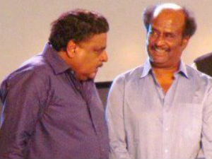 Ambarish and Rajinikanth