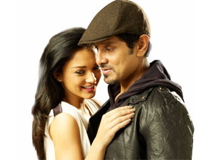 Amy Jackson and Vikram
