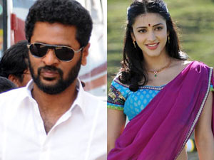 Prabhu deva and Shruti