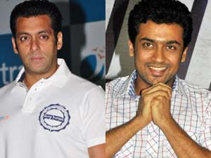 Salman Khan and Surya