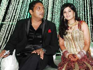 Prakash Raj and Pony Verma