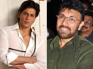 Shah Rukh Khan and Sathyaraj