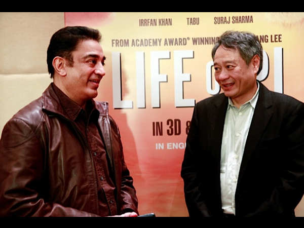 Kamal Hassan and Ang Lee