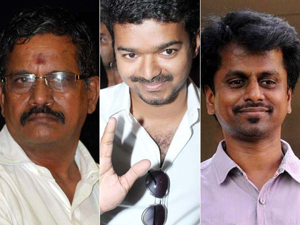 Thanu, Vijay and AR Murugadoss