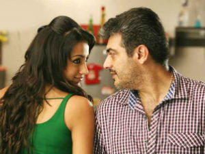 Trisha with Ajith