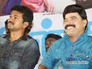 Actor Vijay is my younger brother - Power Star Srinivasan