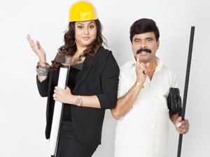 Namitha and Power star