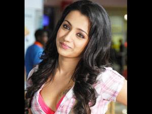 Trisha fights with shooting crew