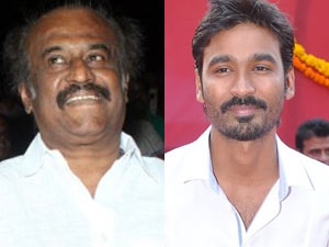 Rajini and Dhanush
