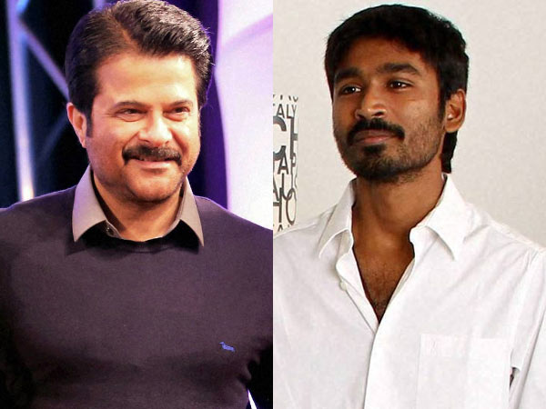 Anil kapoor and Dhanush