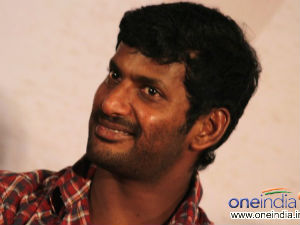 Vishal speaks on Hero - Director Chemistry