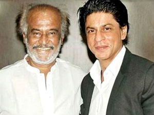 Rajinikanth's Blessings For Shahrukh's 'Lungi Dance'