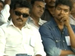 Sarathkumar and Vijay