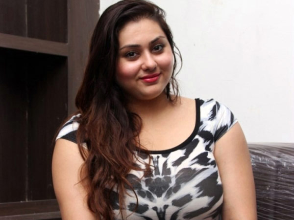Namitha is very much interested in politics