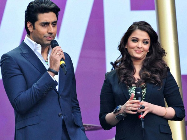 Abhishek and aishwarya rai