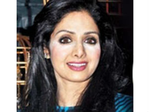 Sridevi suffered from a makeup malfunction