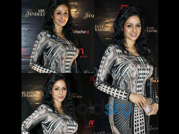 Has Sridevi gone the Pamela Anderson way?