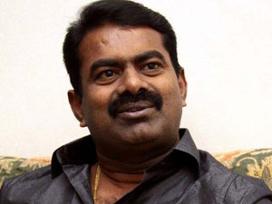 Seeman condemns actress to put caste after their name