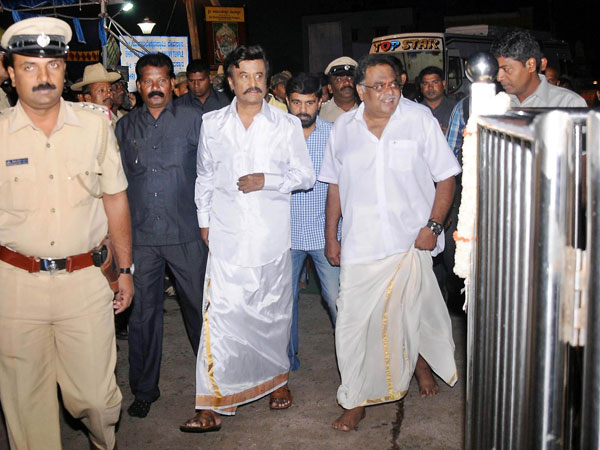 Lingaa kick started at Mysore palace
