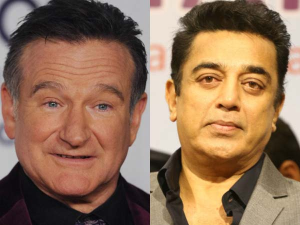 Kamal Hassan's condolence to Robin Williams