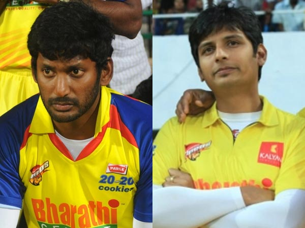 Vishal skipped CCL; Jiiva taking captaincy