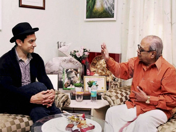 Aamir khan's condolence to K Balachander death