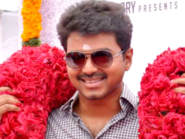 Vijay to announce his movie title on Pongal day