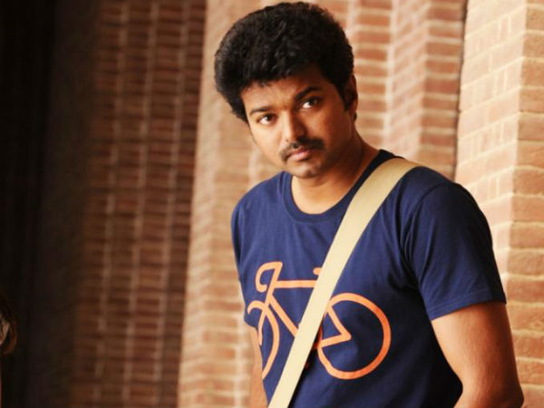 Vijay is back to college