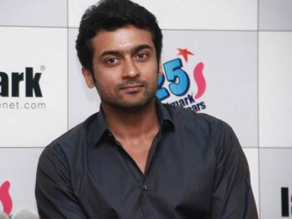 Surya to lodge complaint on a fake FB page in his name