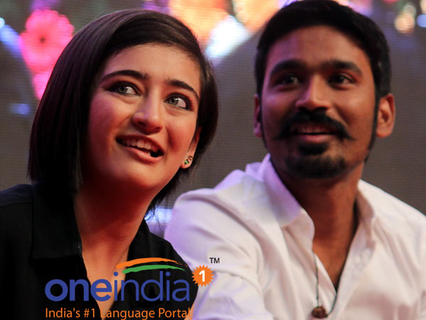 Shamitabh: Acting is in Akshara's blood, says Dhanush