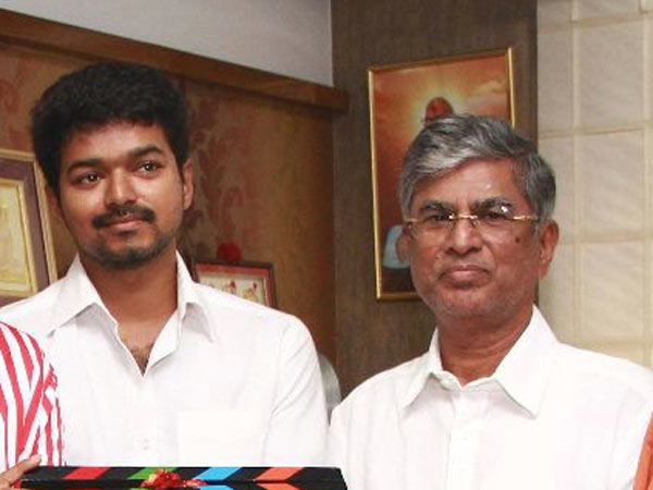S A Chandrasekaran remembers the initial days of Vijay