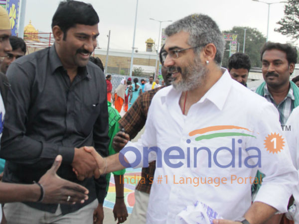 Ajith's hush-hush visit to Tirupathi