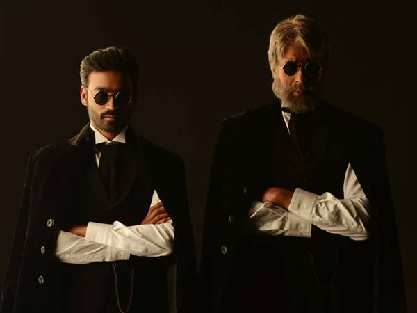 Amitabh, Dhanush and Akshara promote Shamitabh in Delhi
