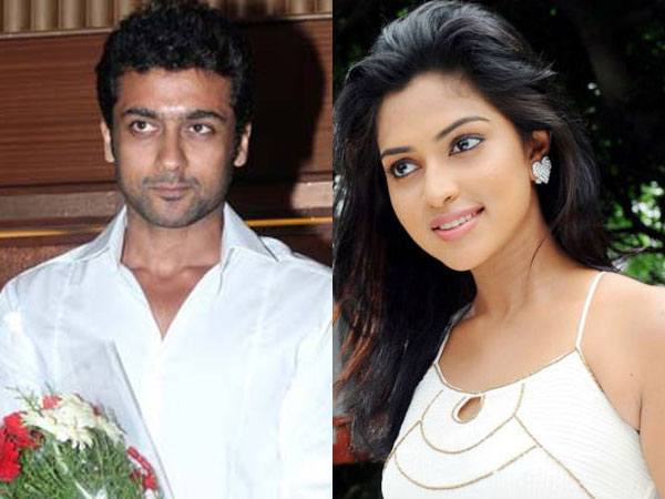 Amala to play Surya's lead lady