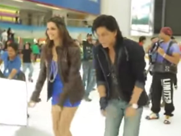 Shah Rukh and Deepika Did the Lungi Dance For a Little Fan