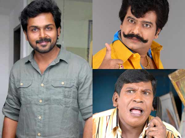 Vivek replaces Vadivelu in Karthi's 'Kashmoro'