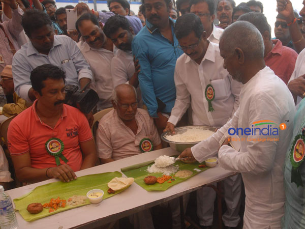 Ilaiyaraaja launches free meal scheme at producer council