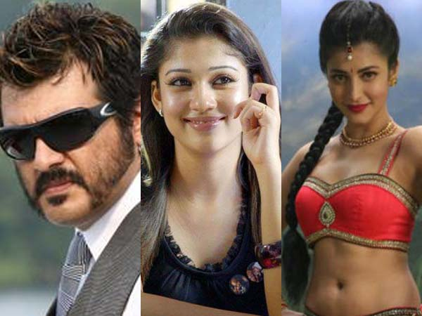 Nayanthara or Shruti Hassan in Ajith's 56th movie