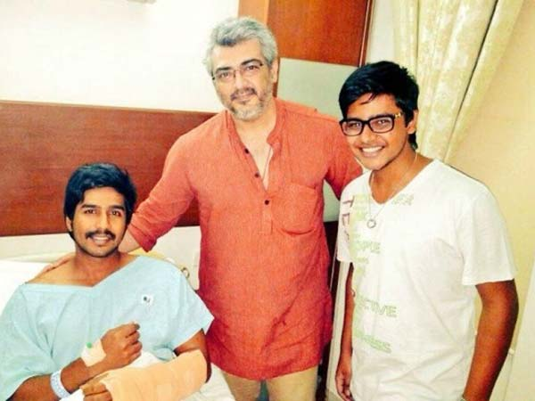 Ajith gives sweet shock to Vishnu