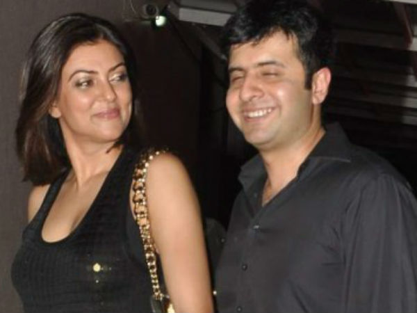 Sushmita Sen walks hand-in-hand with beau Ritik Bhasin at Karim Morani bash
