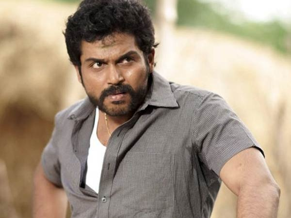 Karthi's friend vacates his house for the actor