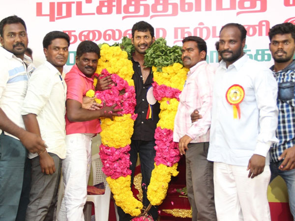 Vishal's open talk about fans and artist association