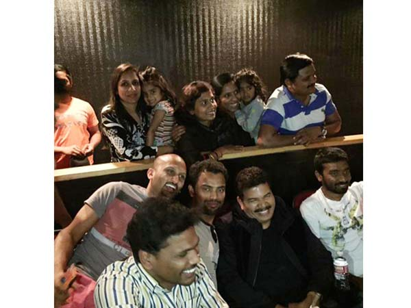 Shankar watches O Kadhal Kanmani at US