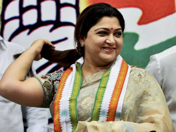 Director Ramesh condemned Kushboo