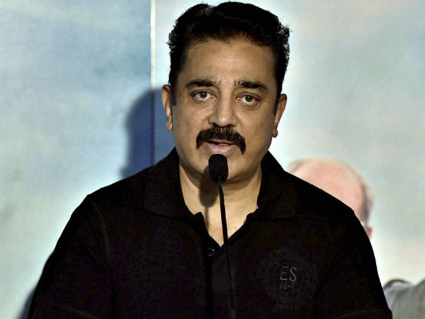 Kamal's reaction for Suhassini's comments