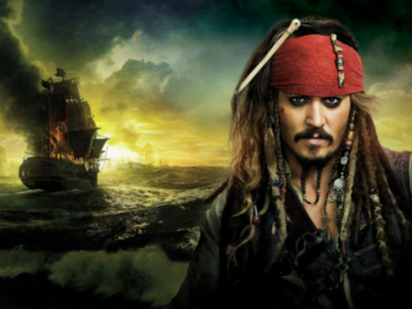 First Look At Johnny Depp Reprising His Role In Pirates Of The Caribbean 5