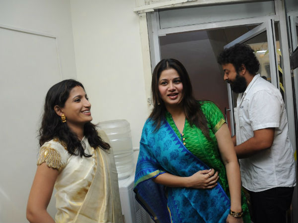 Actress Santhoshi becomes designer