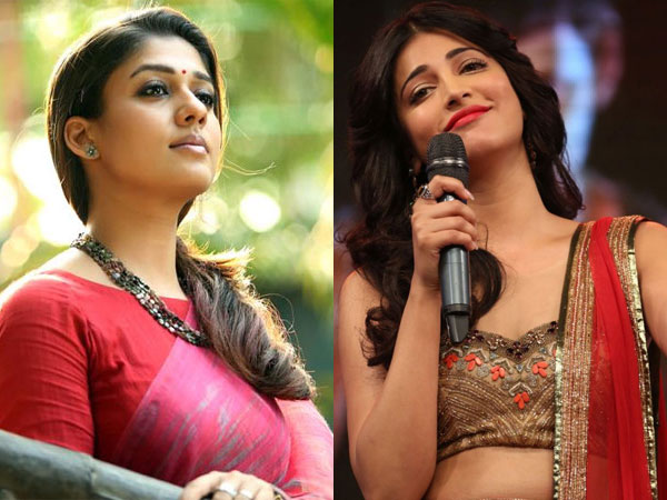Shruthi Hassan crooned for Nayan in Ithu Namma Aalu